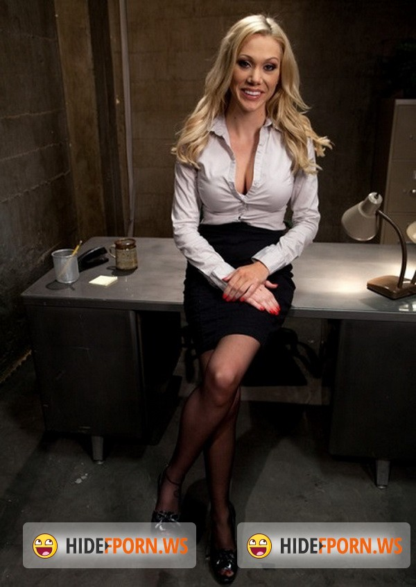 BoundGangBangs.com/Kink.com - Samantha Sin - Sexy Blonde Prison Warden with Big Tits gets Gangbanged by Horny Inmates [SD 540p]