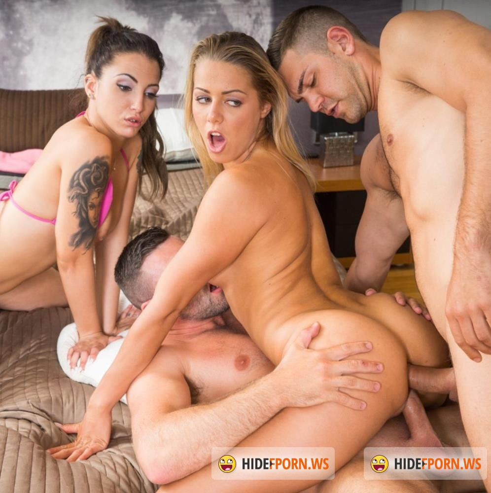 Private - Christen Courtney, Medusa - Christen Courtney and Medusa Star in a DP and Anal Orgy [FullHD 1080p]