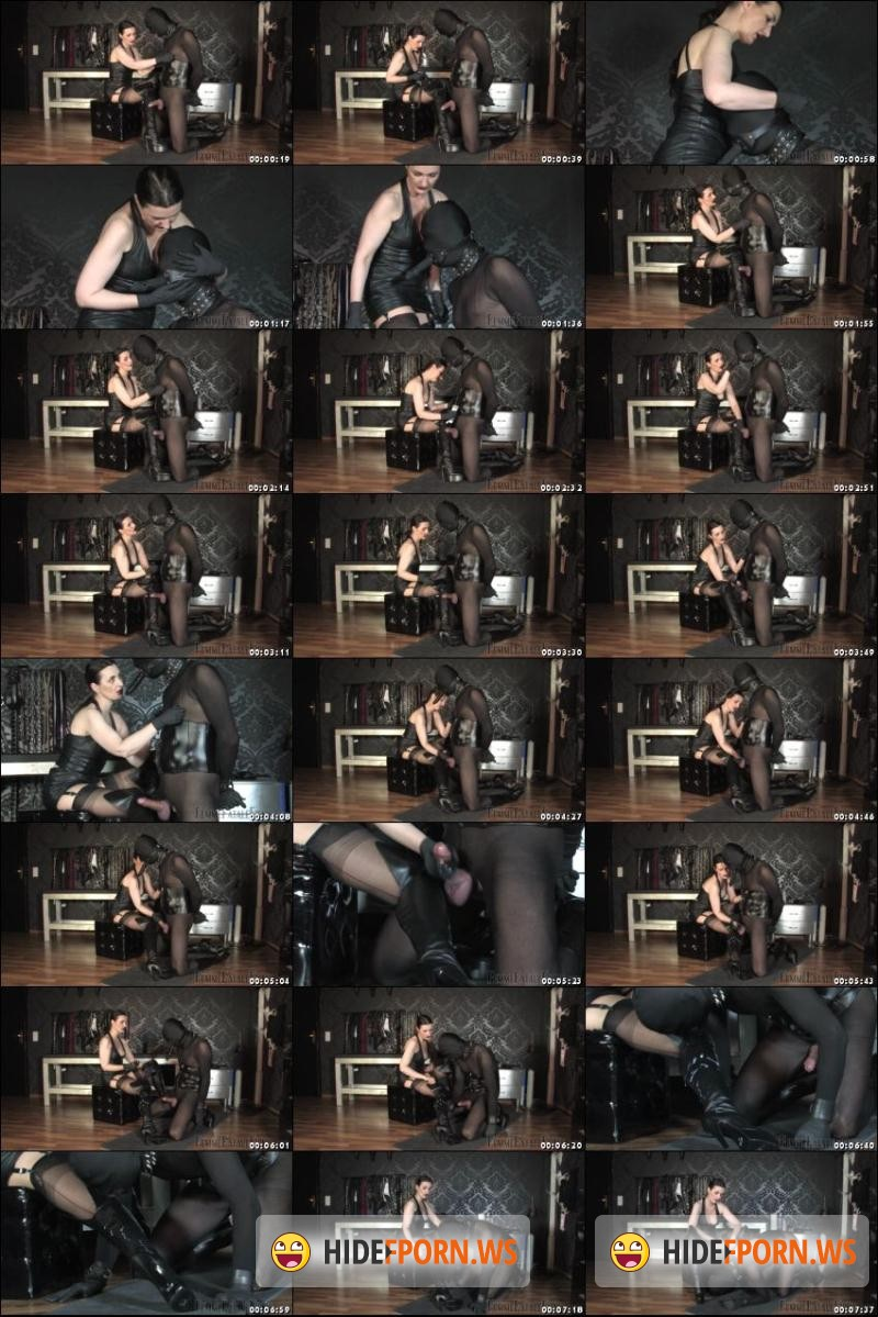 FemmeFataleFilms -  Lady Victoria Valente - Cum Over My Boots [HD 720p]