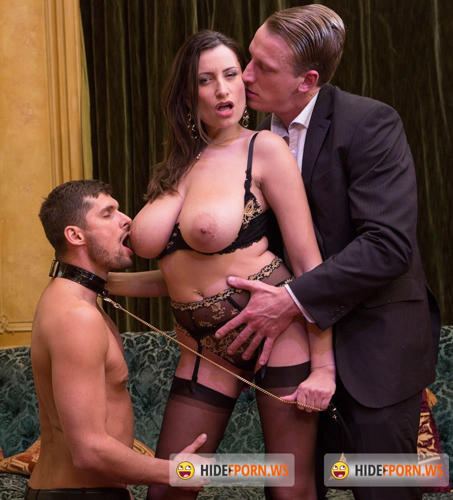 DorcelClub - Sensual Jane - Sensual, the big tits milf gets fucked by 2 men [FullHD 1080p]