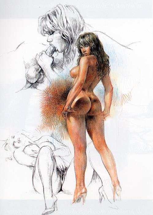 самом рисунки эротика запредельное все