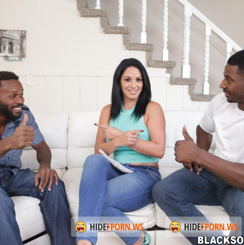 BlacksOnMoms.com - Cristal Caraballo - Busty MILF with a huge ass takes on two cocks [FullHD]