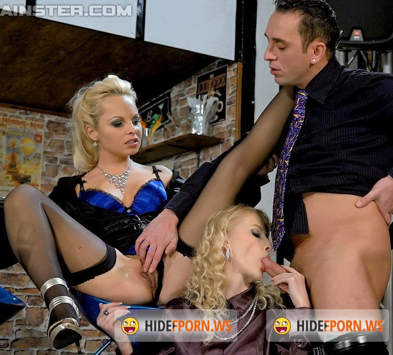 FullyClothedPissing.com/Tainster.com - Sharka Blue, Kate - Blondie Piss Bar [FullHD 1080p]