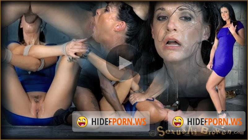 SexuallyBroken.com - India Summer, Matt Williams, Jack Hammer - MILF India Summer bound, ragdoll fucked without mercy, brutal deepthroat and multiple orgasms! [HD 720p]