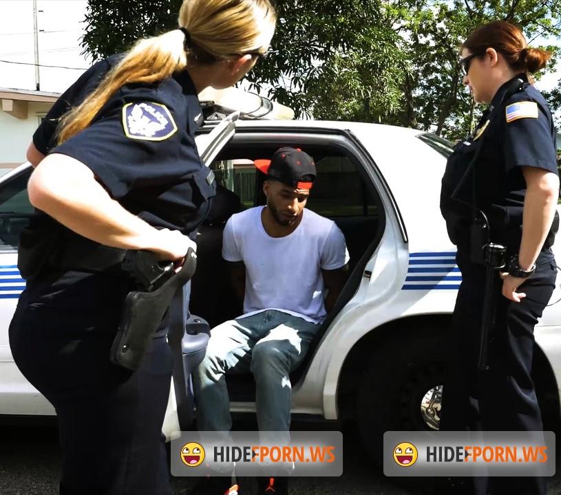 Ebony milf pounded black suspect taken on a think