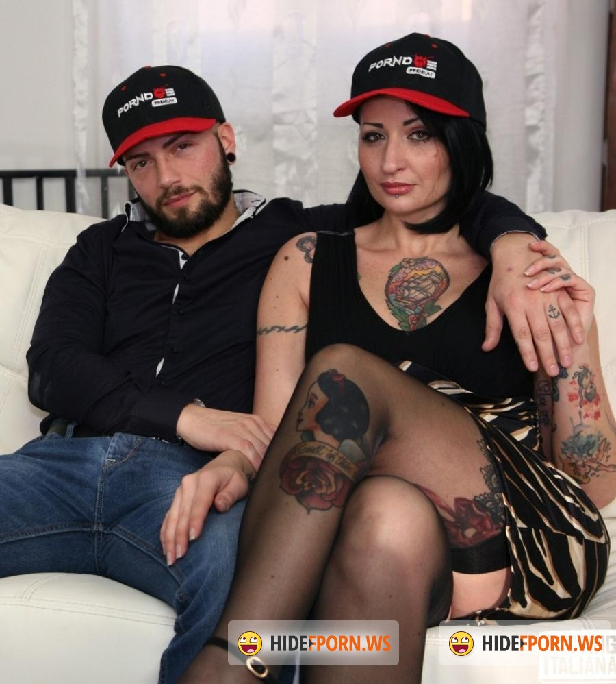 CastingAllaItaliana/PornDoePremium -  Lady Muffin - Hot tattooed Italian Lady Muffin squirts like crazy in hardcore casting [HD 720p]