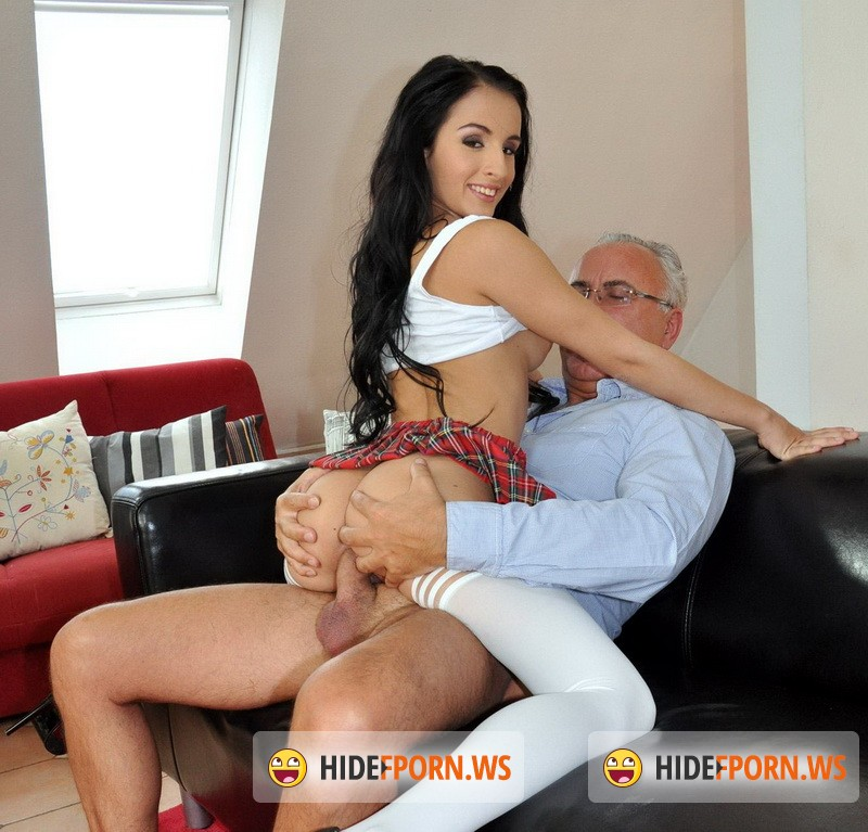 Hot anal sex with dildo