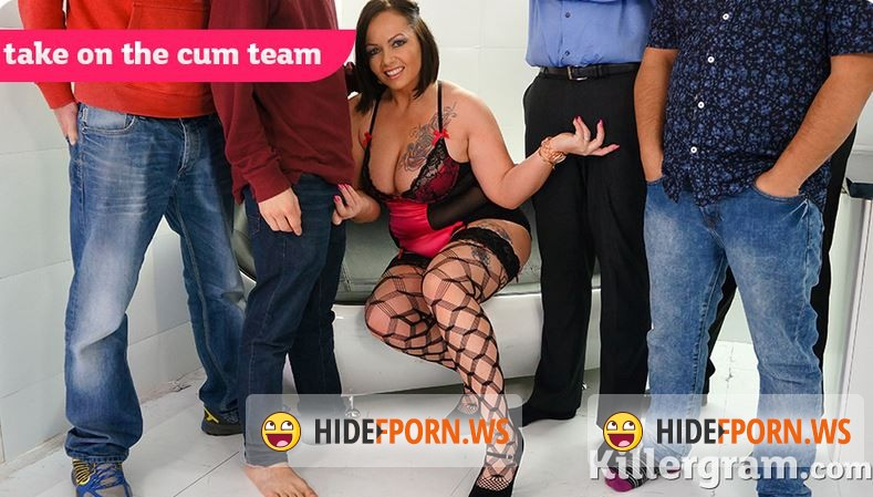 UkRealitySwingers.com/KillerGram.com - Samantha Stockings - Take on the Cum Team [HD 720p]
