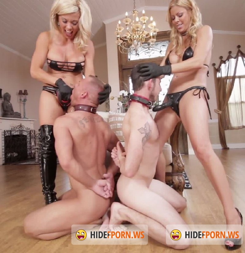 ClubDom.com -  Alexis Fawx, Parker Swayze  - Alexis And Parker Strapon 4-Some Fun [FullHD 1080p]