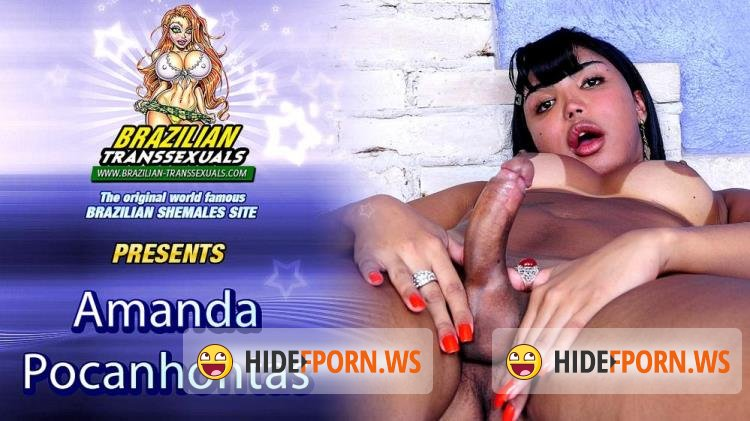 Groobyhub, Brazilian-Transsexuals.com - Amanda Pocahontas - Amanda Pocahontas - Amanda Pocahontas Cums For You! [SD]