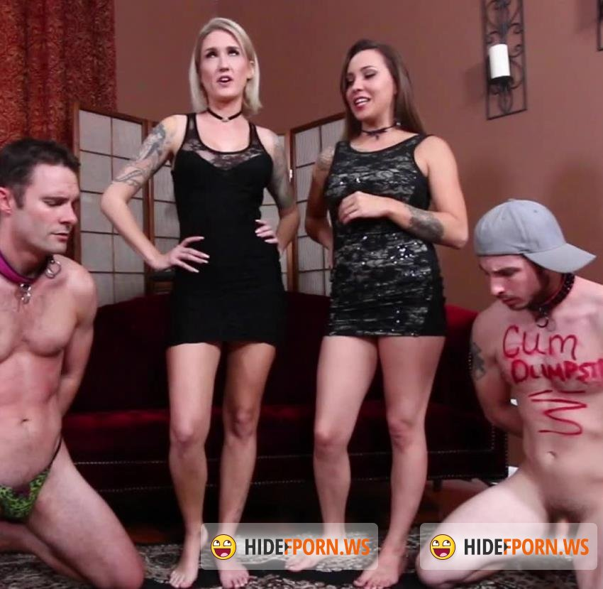SubbyHubby - Reagan Lush, Sasha Foxx - Duped Into Domination Part 2: CFNM Party [HD 720p]