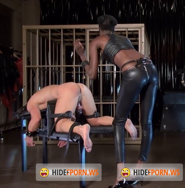 KinkyMistresses - Black Mamba - Strap-on Fucking and CP [HD 720p]