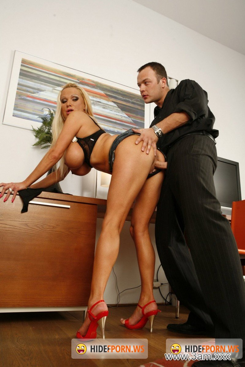3am.xxx - Sharon Pink - Sharon Pink Gets Bent Over the Desk [FullHD 1080p]