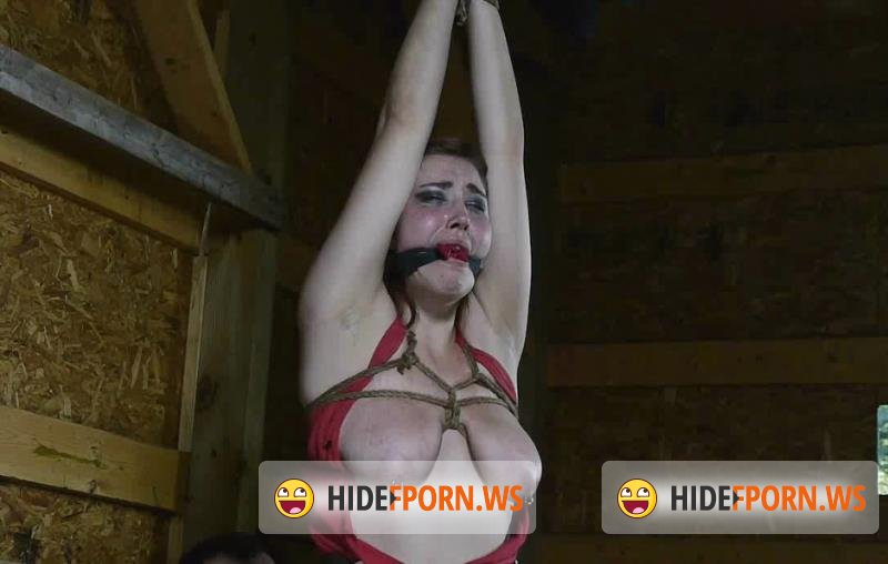 FutileStruggles.com/Clips4sale.com - Riley - Barnyard Bondage for Riley Her Ordeal Continues [HD 720p]