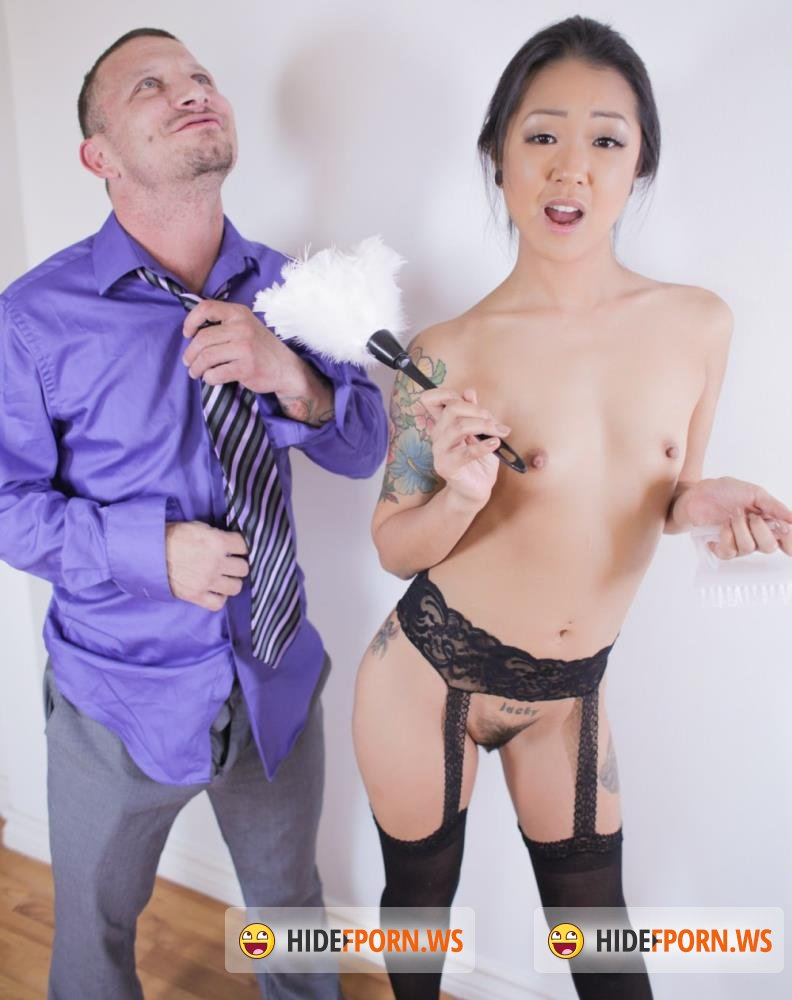 EvilAngel - Saya Song - Anal Asian Housekeeper Squirts! [HD 720p]