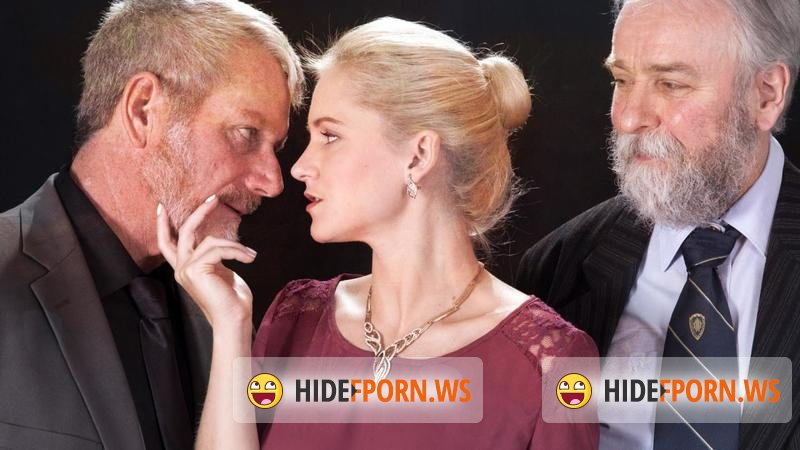 BeautyAndTheSenior.com - Rossella Visconti - Bussines Wooman Fucked With Two Old Man [HD 720p]