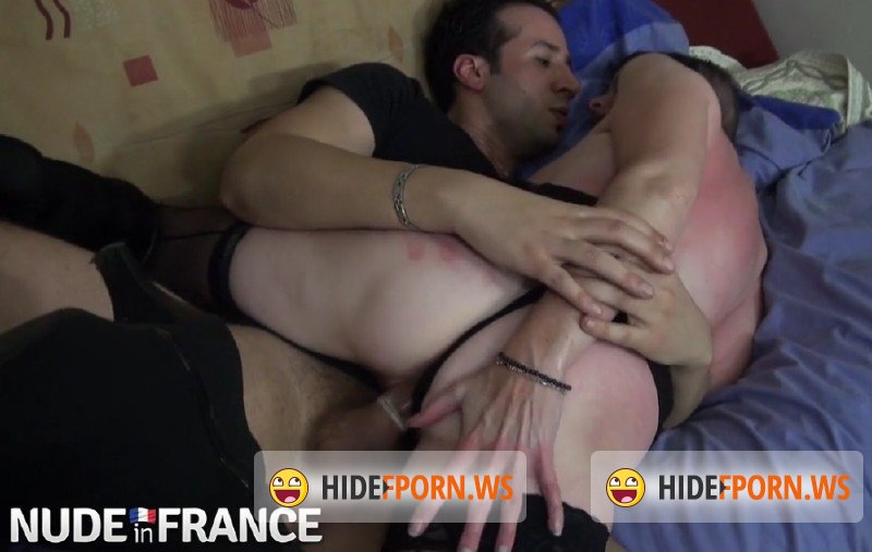 NudeInFrance.com - Amateurs - Older French whore fucks young black pervert [SD 406p]