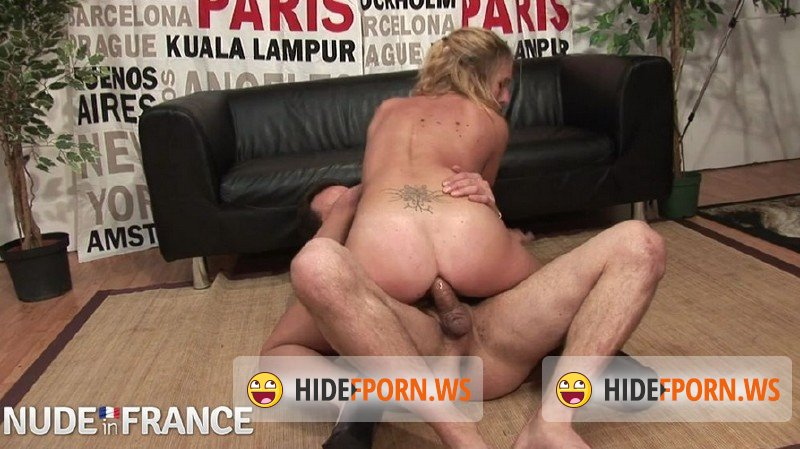 NudeInFrance.com - Cassandra Delamour - Parisian blonde strips down for casting call [HD 720p]