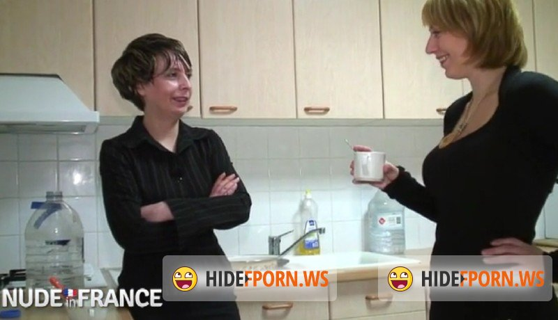 NudeInFrance.com - Sophie, Alix Files - Mature Lesbians Work Together and Can?t Deny Licking Pussy [SD 406p]