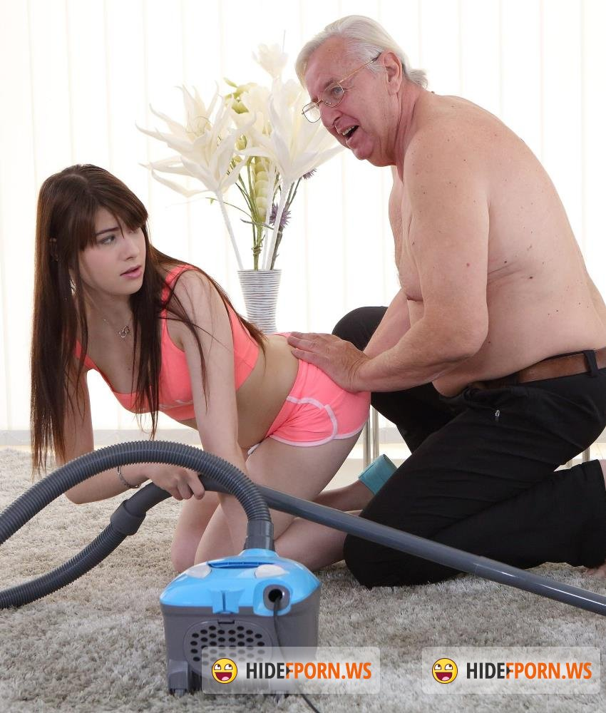 Old-n-Young/TeenMegaWorld - Luna Rival - Old man makes sweetie kneel [HD 720p]