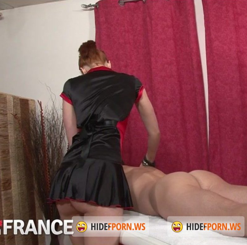 NudeInFrance.com - Enora Hardesya - Young French redhead gives and receives oily sex massage [HD 720p]