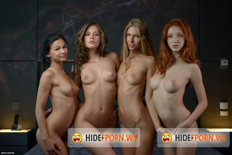 X-Art - Caprice, Angelica, The Red Fox, Keira - Fuck Me Four Ways [FullHD 1080p]