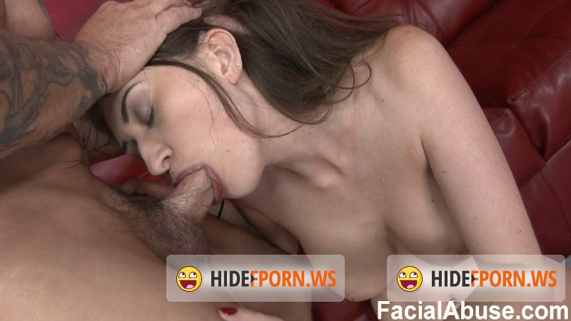 FacialAbuse.com - Amateur - Skin, Bones, and Bolt Ons [HD 720p]