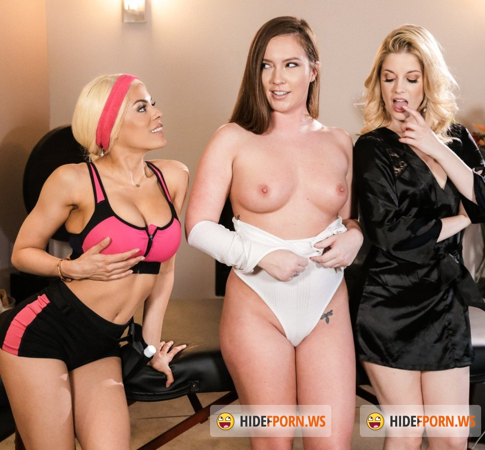 AllGirlMassage/FantasyMassage - Maddy OReilly, Charlotte Stokely, Luna Star - Two Is Better Than One [FullHD 1080p]