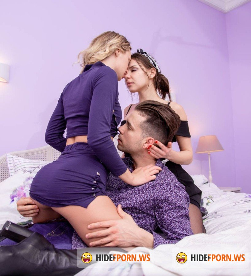 Private - Henessy,  Natalia Starr - Natalia Starr shares boyfriend with Henessy in anal threesome [HD]