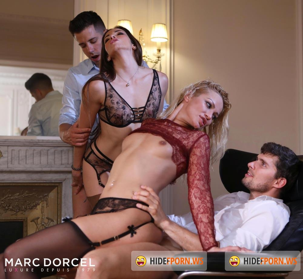 DorcelClub - Cherry Kiss, Clea Gaultier - Clea And Cherry, wild night [FullHD 1080p]