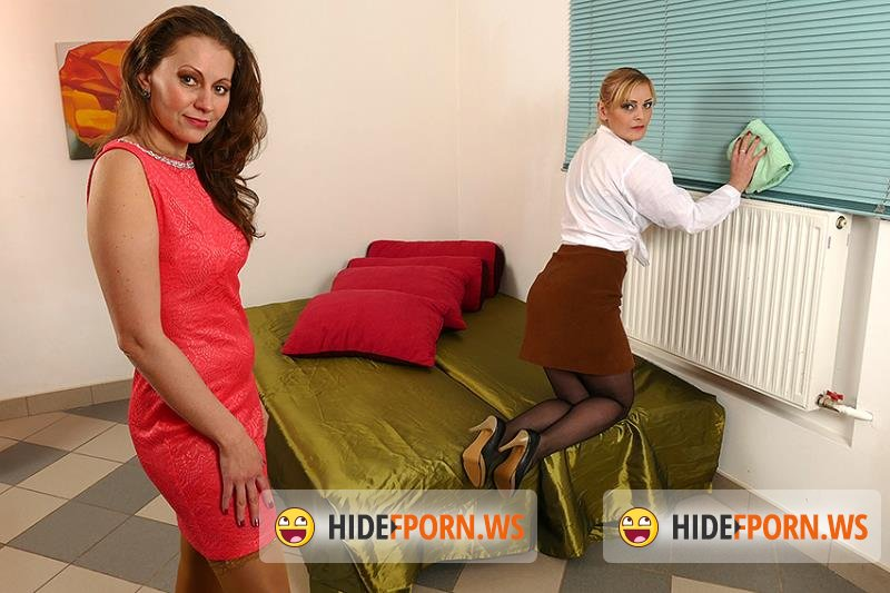 Mature.eu/Mature.nl - Audrey (37), Helga (36) - Bisexual housewives share a hard cock [FullHD 1080p]