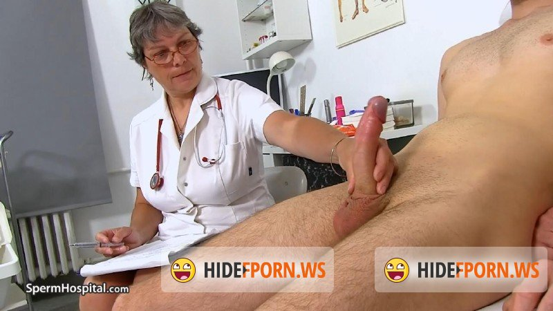 Spermhospital.com - Doris W - Chesty uniform granny Doris penis bondage cure [HD 720p]