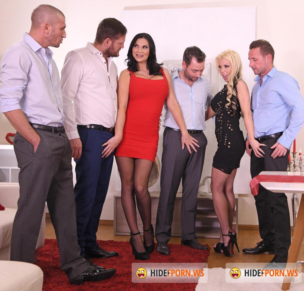 DDFNetwork - Barbie Sins, Jasmine Jae - Xtreme Anal Galore [HD 720p]