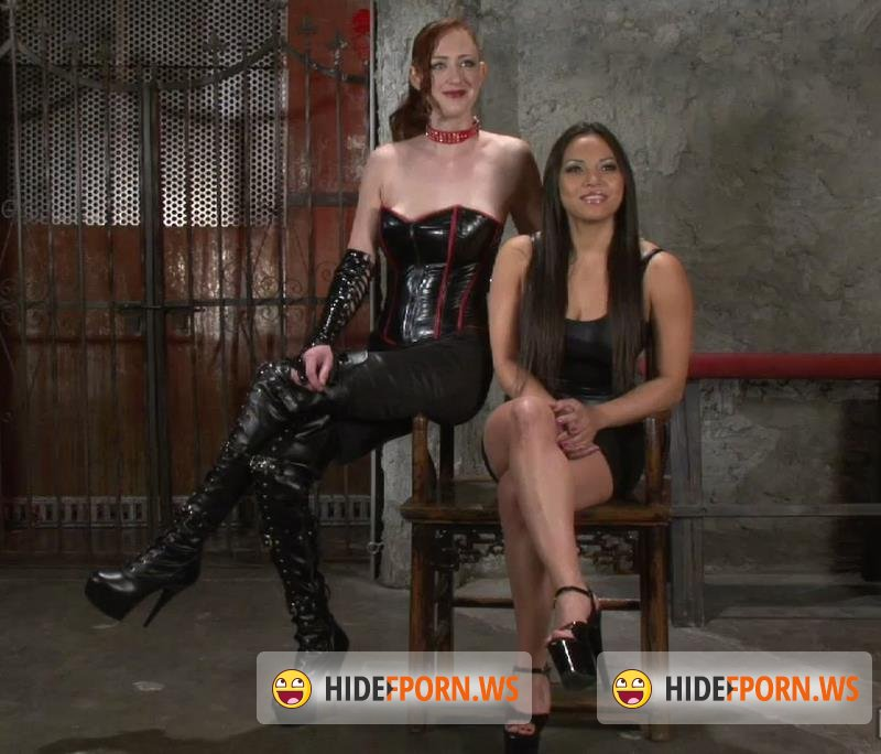SocietySM.com - Adrianna Luna, Holly Wood - This Slave Shall Cum! [HD 720p]