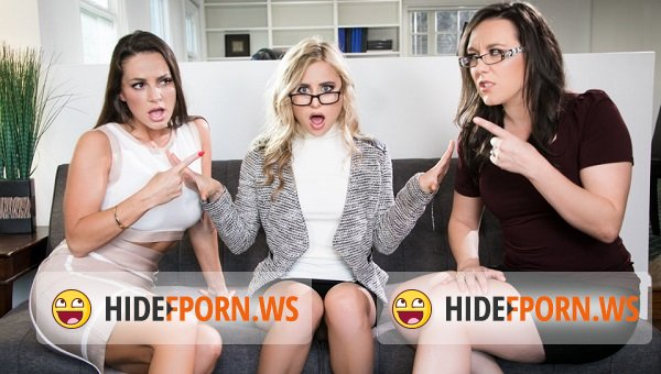 GirlsWay.com - Chloe Cherry, Kendra Spade - Nerds Rule! The Finger Bang Theory [FullHD 1080p]