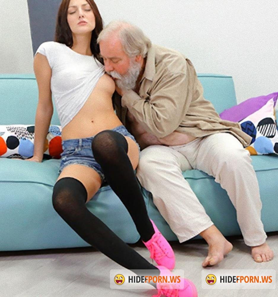 Old-n-Young/TeenMegaWorld - Katy Rose - Uneven-aged doggy orgasm [HD 720p]