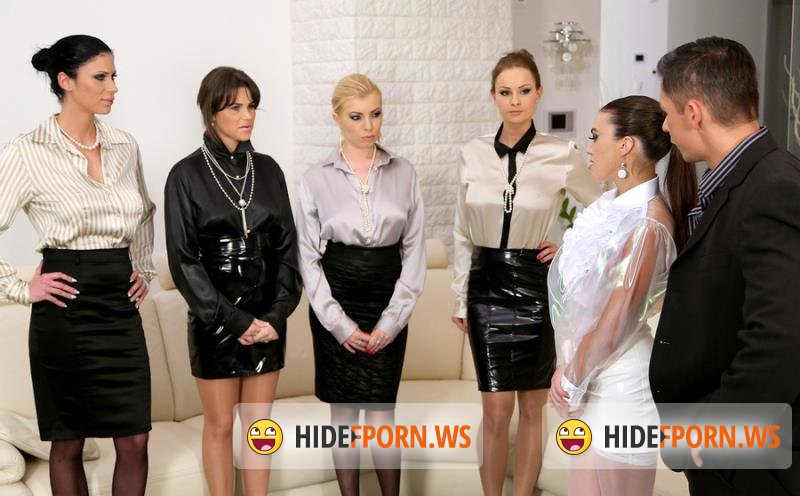 SinDrive.com - Tiffany Doll, Chintia Doll, Donna Bell, Abbie Cat, Violet Black - Big Tits Special: Put The Rough Slut In Her Place With Some Anal Domination - Part 1 [HD 720p]